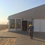 Walvis Bay Airport. 35mins drive to Swakopmund.