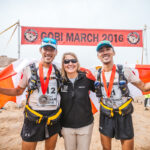 Post-race Photo-op with 4Deserts Race Series Founder Mary K. Gadams