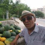 Local street vendor treated us with some world famous Hami Melons. What a generous guy!