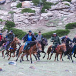 Horse Racing in the Tian Shan Mountains