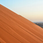 The Arabian Desert has all sorts of colours to their sand depending how far you are to the coast