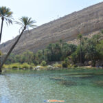 Post-race visit to Wadi Bani Khalid. A natural spring in the middle of the desert! Simply magnificent