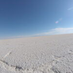 Miles and miles of pristine salt.
