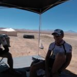 Our tent mate Isabelle is a beast. She bested that day. Paul and I shared a laugh at the finishing chute.
