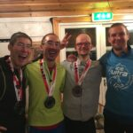 Paul, me, Will, and Maritz. Will came in 6th on his first ever Multistage race. Amazing achievement!